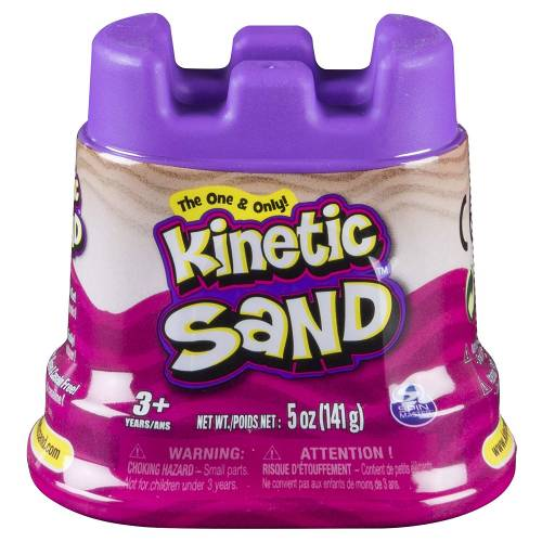 Kinetic Sand Single Container 4.5oz Pink