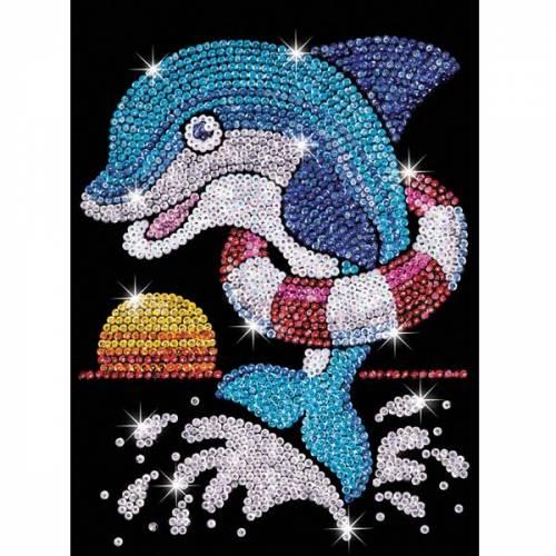 Sequin Art Ltd. Sequin Art Red Jack the Dolphin 1304