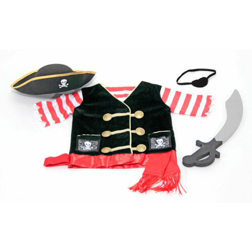 Melissa & Doug Role Play Costume - Pirate