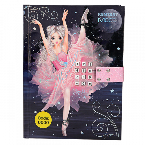 Depesche Top Model Fantasy Model Diary with Code