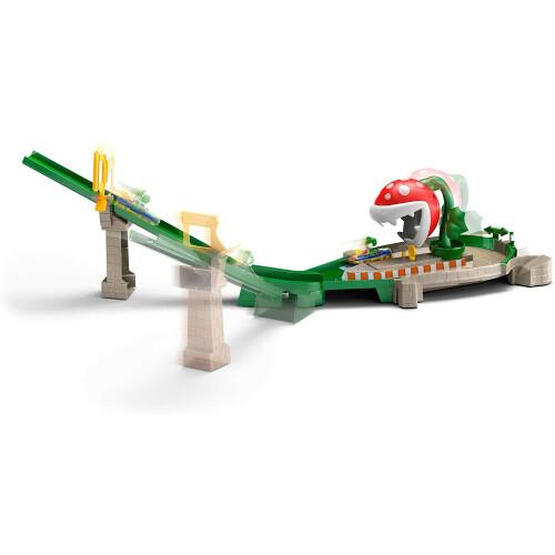 Hot Wheels Mario Kart - Piranha Plant Slide Track Set