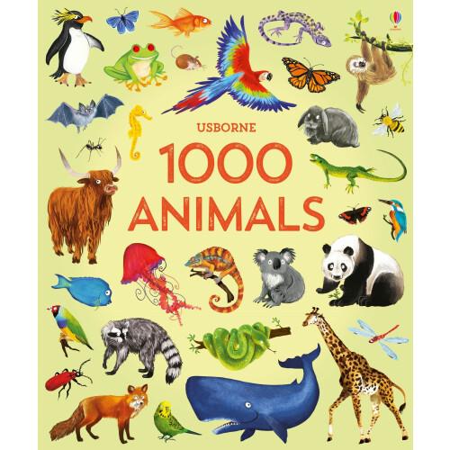 Usborne Books - 1000 Animals
