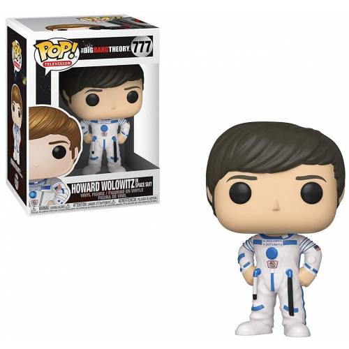 Funko Pop Vinyl Howard Wolowitz in Space Suit 777