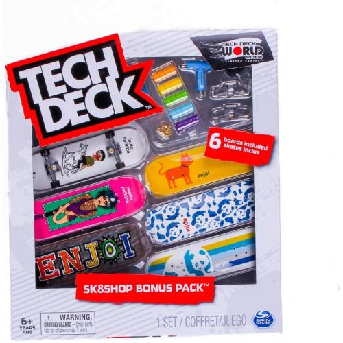 Tech Deck - World Edition - Sk8shop Bonus Pack - Enjoi