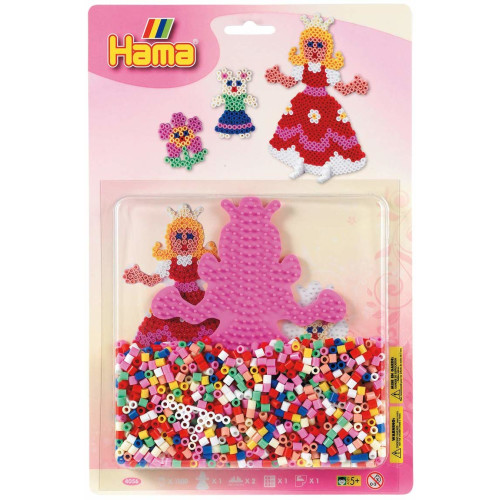 Hama Beads 4056 Princess & Mouse