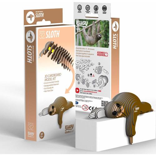 Eugy - 3D Model Craft Kit - Sloth