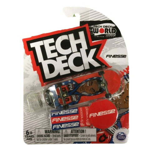 Tech Deck - World Edition - Finesse Boxer