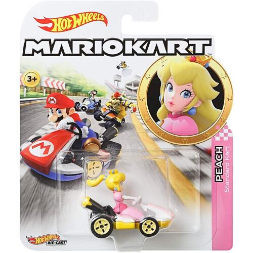 Hot Wheels Mario Kart - Peach (Standard Kart)