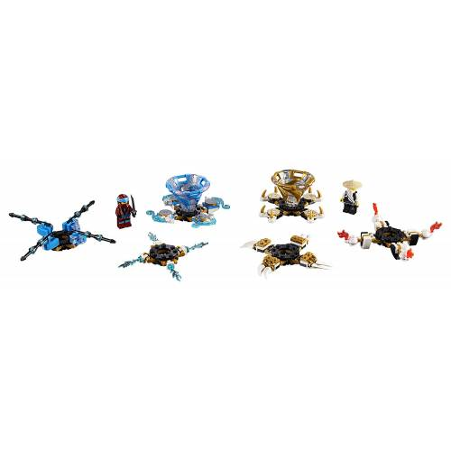 Lego 70663 Ninjago Spinjitzu Nya and Wu