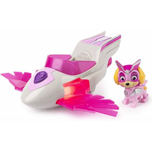 Paw Patrol Mighty Pups Super Paws - Skye Deluxe Vehicle