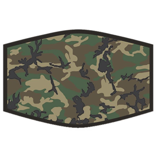 Washable Face Protector - Adult Size - Camouflage