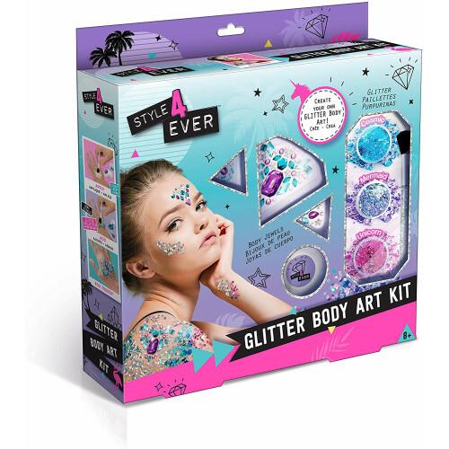 Style 4 Ever Glitter Body Art Kit