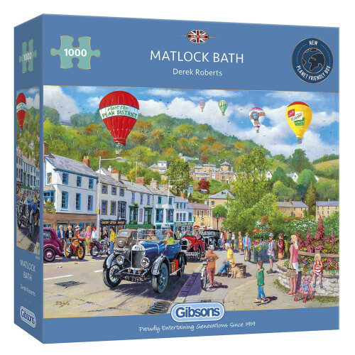Gibsons Matlock Bath 1000pc Puzzle