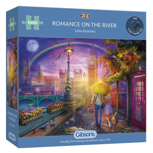 Gibsons Romance on the River 1000pc Puzzle