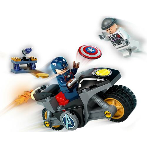 Lego 76189 Infinity Saga Captain America and Hydra Face-Off