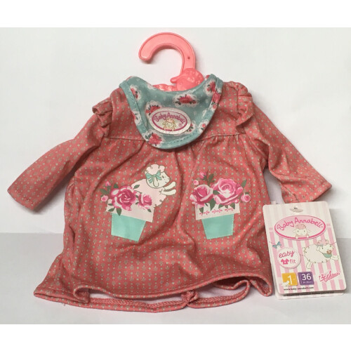 Baby Annabell Clothing - Flower Pot Top