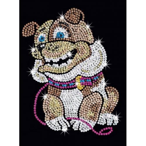 Sequin Art Ltd. Sequin Art Red Billie Bulldog 1501