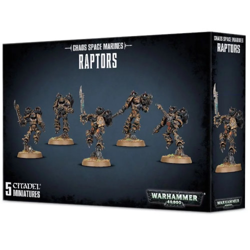 Warhammer 40,000 - Chaos Space Marines Raptors