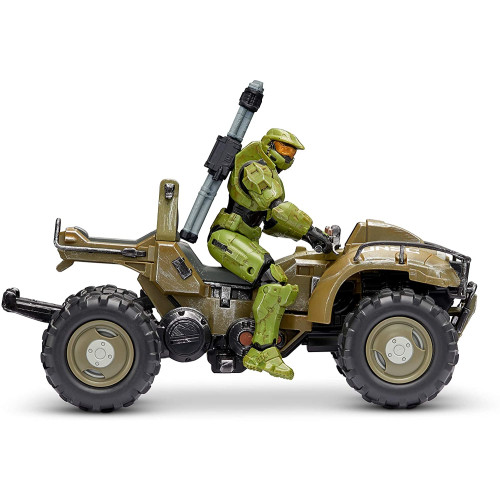 World of Halo - Mongoose with Master Chief