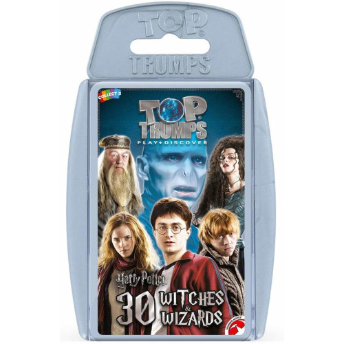 Top Trumps Harry Potter 30 Witches & Wizards