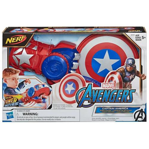 Nerf Power Moves - Marvel Avengers - Captain America Shield Sling
