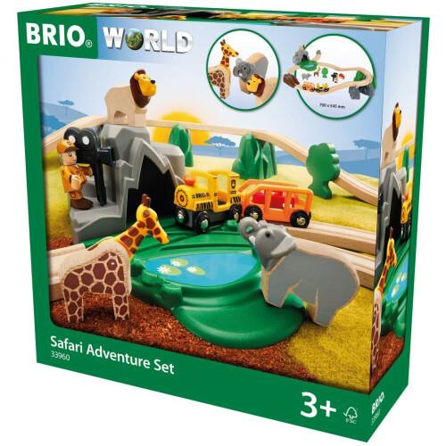 Brio 33960 Safari Adventure Set