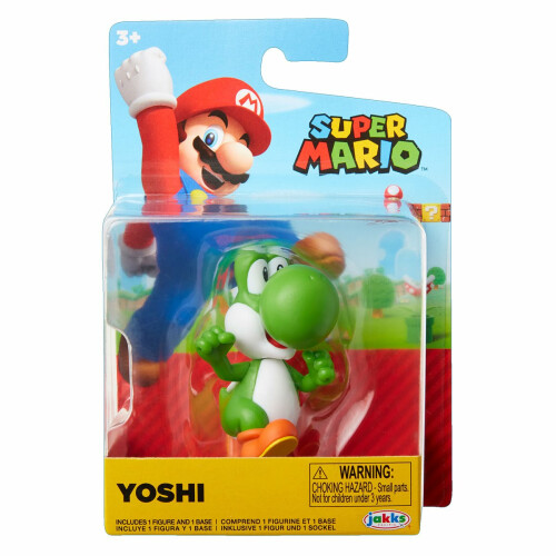 Super Mario 2.5 Inch Figures - Yoshi (Running)