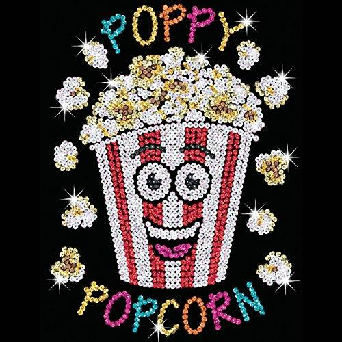 Sequin Art Limited. Sequin Art Red Poppy Popcorn 1826