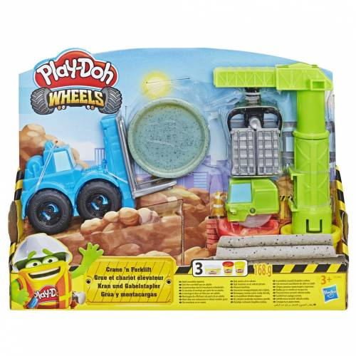 Play-Doh Wheels Crane 'n Forklift