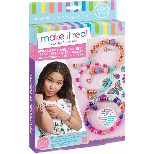 Make It Real - Bedazzeled! Charm Bracelets