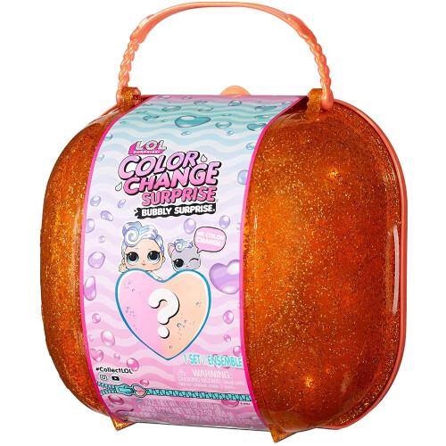 LOL Surprise! Colour Change Surprise Bubbly Surprise - Orange