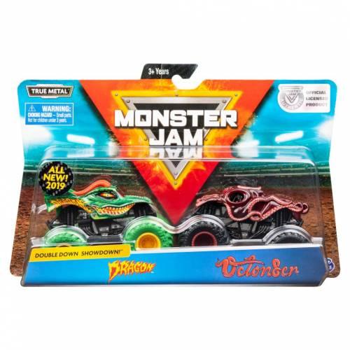Monster Jam - 2 Pack - Dragon vs Octon8er