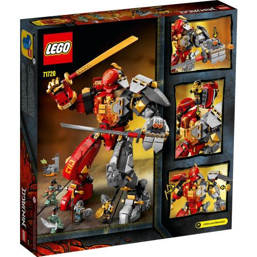 Lego 71720 Ninjago Fire Stone Mech   Toys n Tuck
