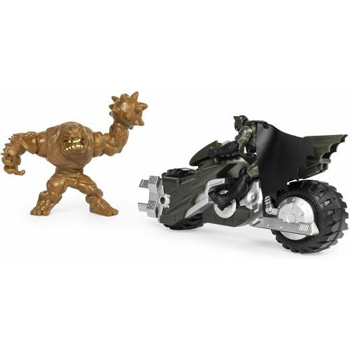 Batcycle Batman vs Clayface