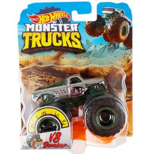 Hot Wheels Monster Trucks - V8 Bomber