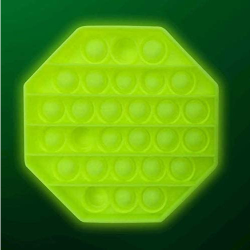 Glow In The Dark Push Poppers - Octagon