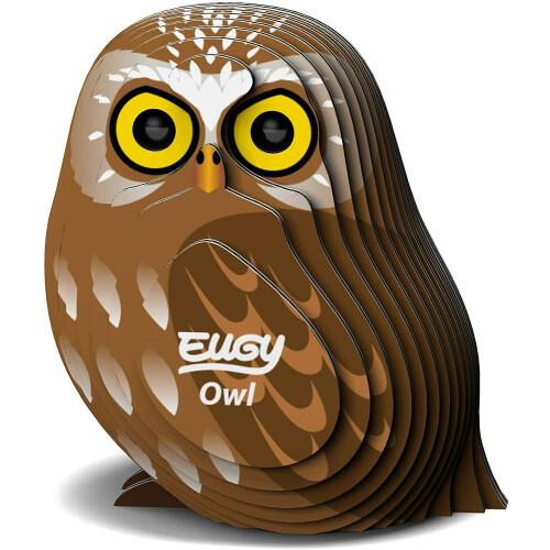 Eugy - 3D Model Craft Kit - Owl