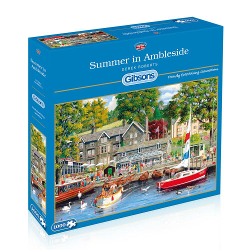 Gibsons 1000 Piece Jigsaw Puzzle - Summer In Ambleside