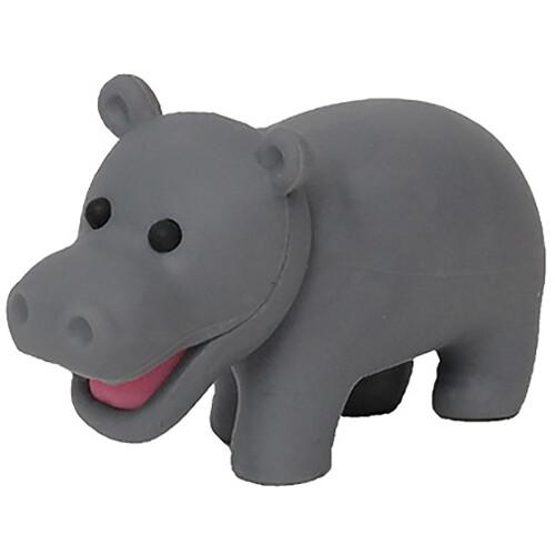 Iwako Puzzle Eraser - Wild Animals - Hippo
