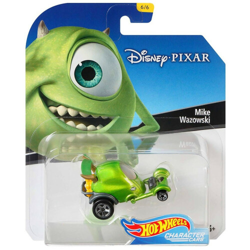 Hot Wheels Disney Character Cars Series 1 - Mike Wazowski