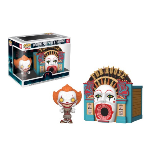 Funko Pop Vinyl - IT Chapter Two - Demonic Pennywise & Funhouse 10
