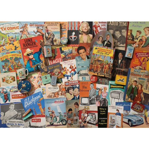 Gibsons Spirit of the 50s 1000pc Puzzle