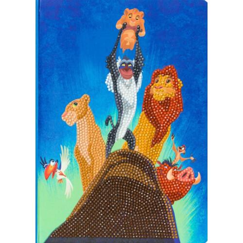 Crystal Art Disney Notebook Kit - The Lion King Pride Rock