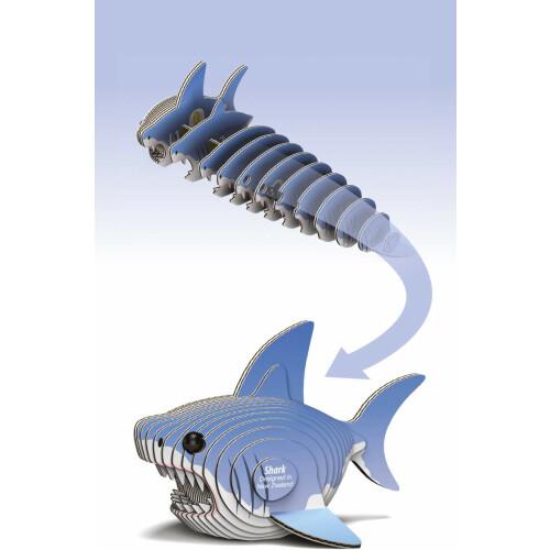 Eugy - 3D Model Craft Kit - Shark