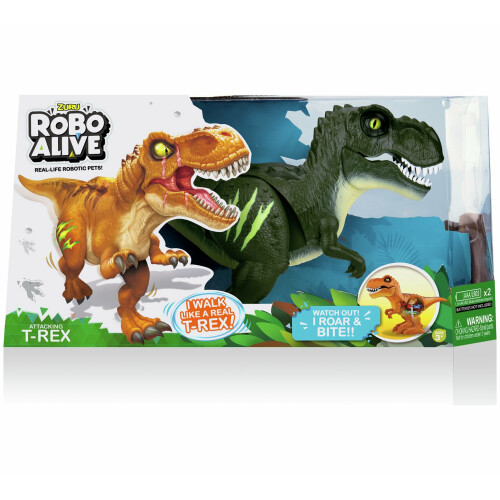Robo Alive T-Rex - Jungle Green
