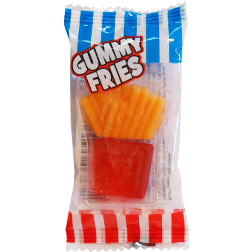 Crazy Candy Factory Mini Gummy Fries