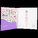 Depesche Manga Model Dress Me Up Sticker Book