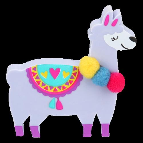 Depesche Top Model Alpaca Eraser - Purple
