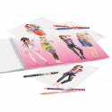 Depesche Top Model Create Your Top Model Colouring Book
