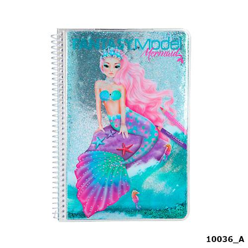 Depesche Top Model Fantasy Model Colouring Book Mermaid